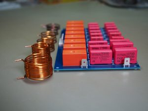 Capacitor Board and Coils