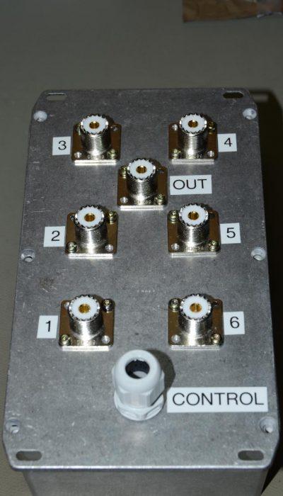 Enclosure with Connectors