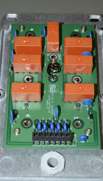 PCB 6 to 1 Switch